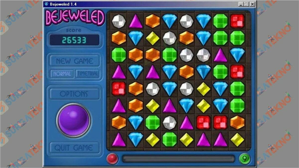 Screenshoot Gameplay Bejeweled