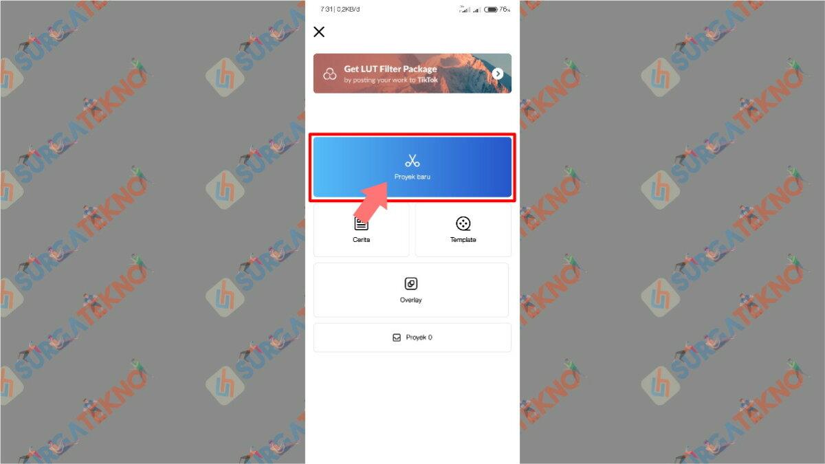 Gambar Langkah Ketiga - Cara Agar Video di Story WhatsApp Tidak Buram / Pecah