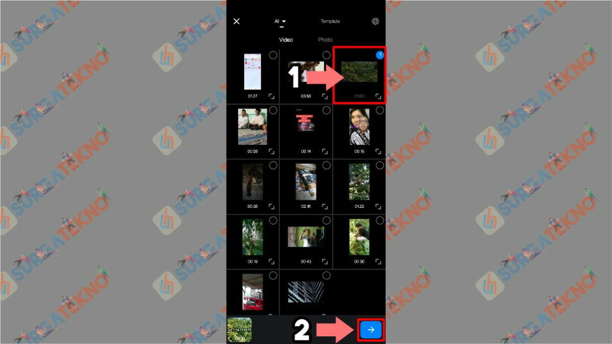 Gambar Langkah Keempat - Cara Agar Video di Story WhatsApp Tidak Buram / Pecah