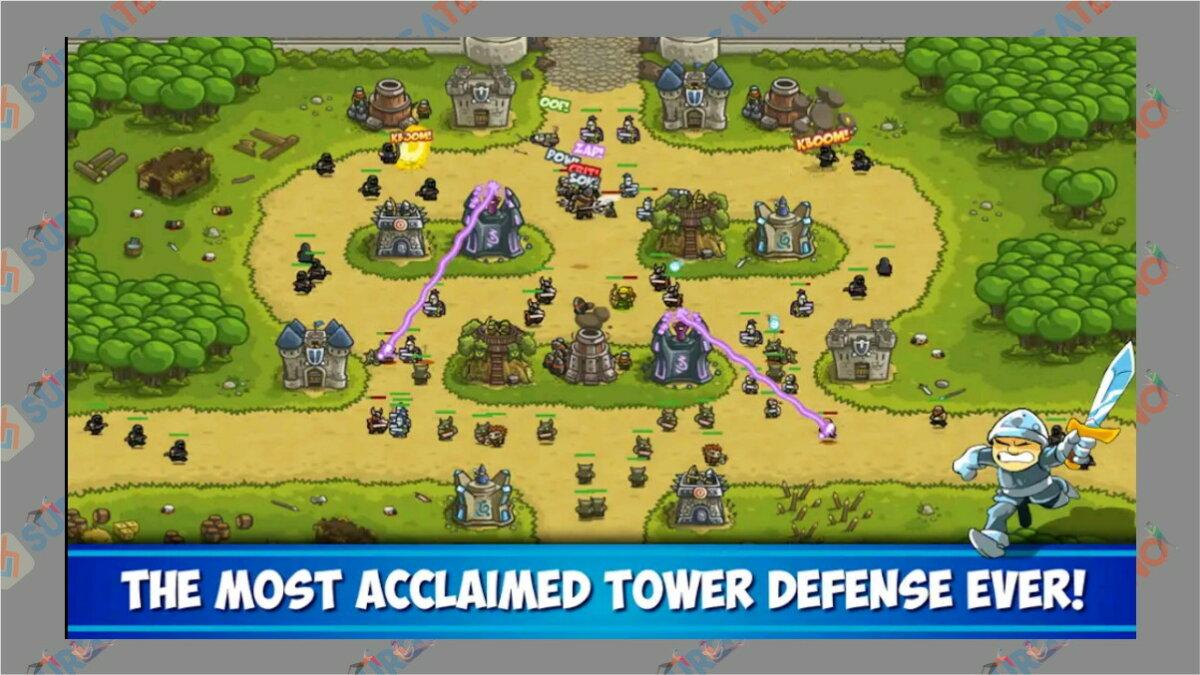 gambar Kingdom Rush - Game Tower Defense terbaik