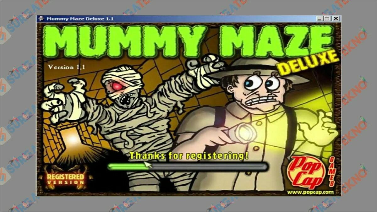 Gambar Langkah terakhir - Cara Install Mummy Maze Deluxe