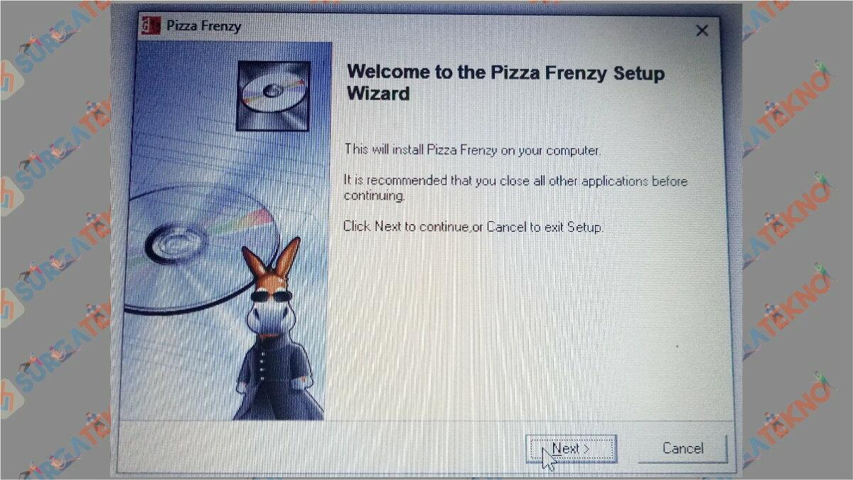 Gambar Langkah kelima - Cara Install Pizza Frenzy