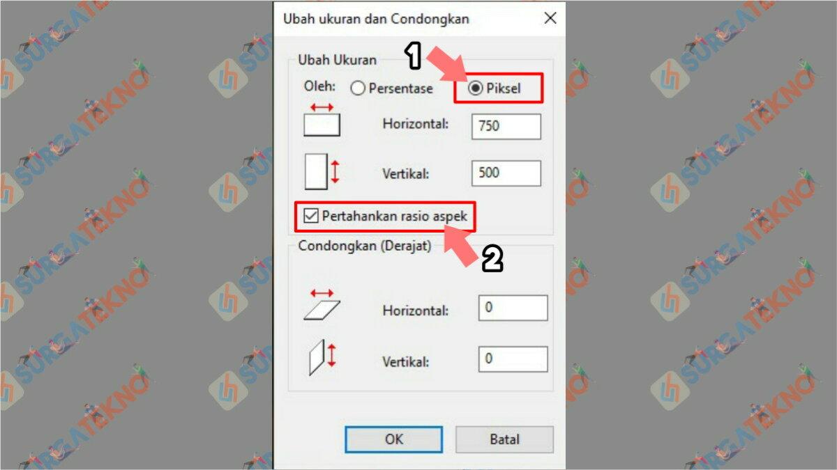 Gambar Langkah kelima - cara memperbesar ukuran jpg