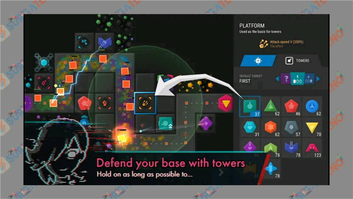gambar infinitode 2 - Infinite Tower Defense - Game Tower Defense terbaik