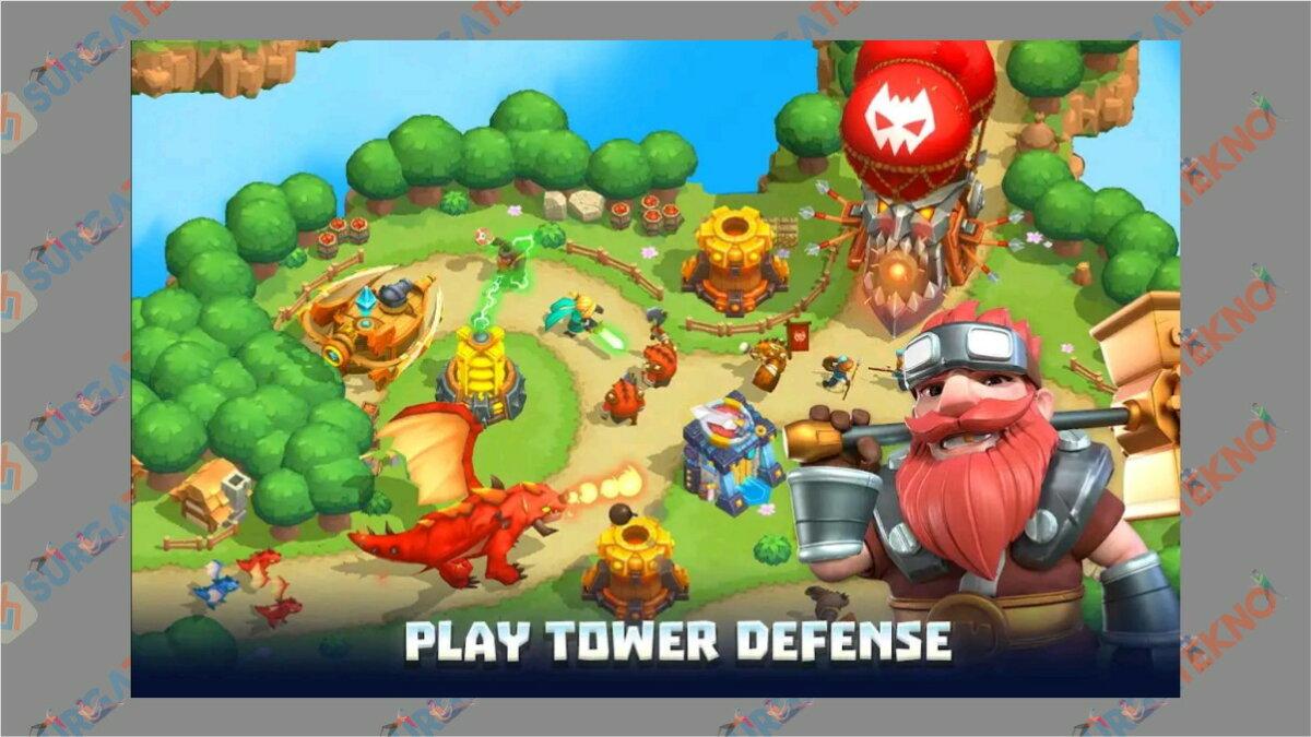 gambar Wild Sky TD - Game Tower Defense terbaik
