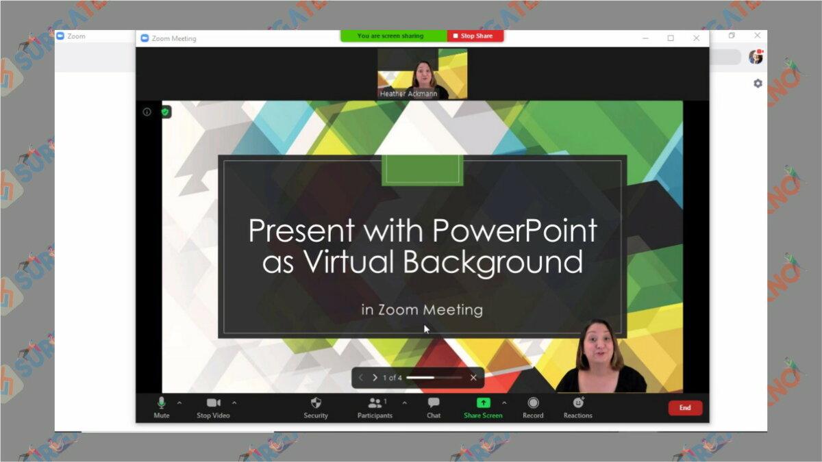gambar Cara Menjadikan PowerPoint Sebagai Background Virtual Zoom