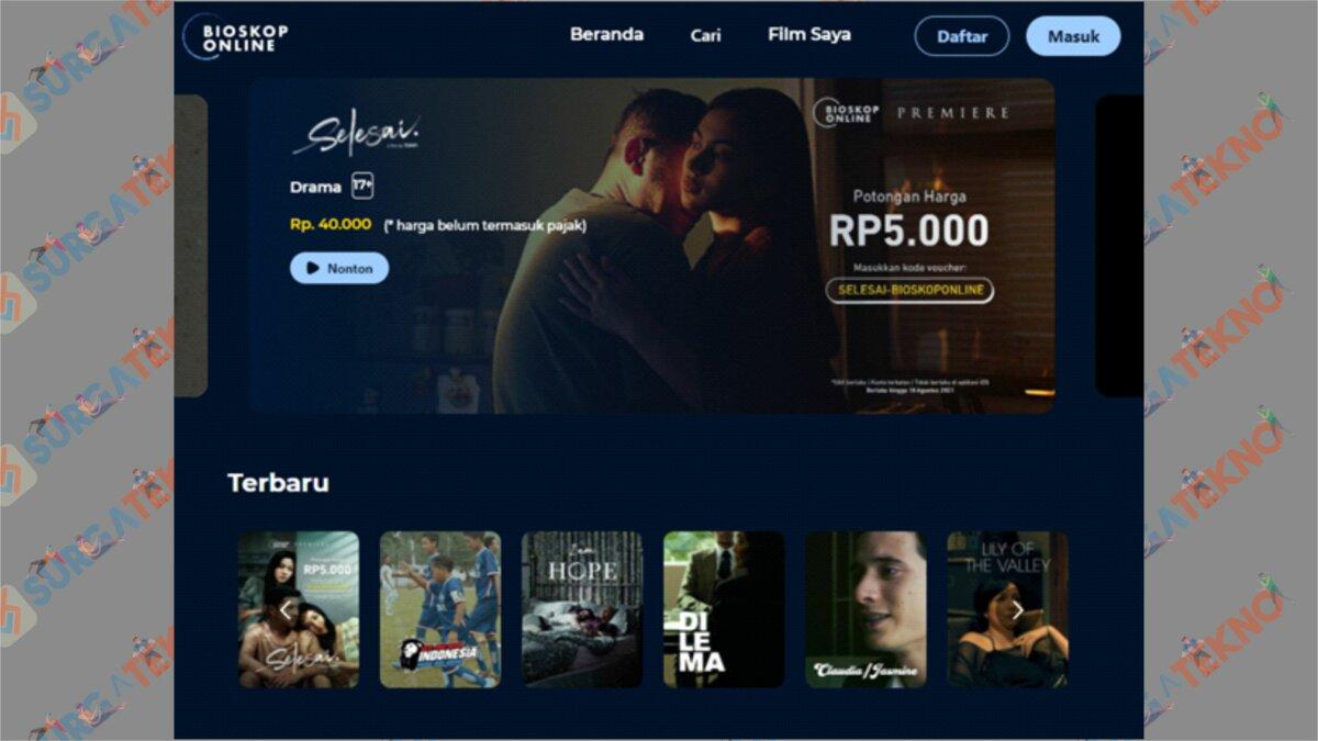Aplikasi Bioskop Online - Nonton Film Selesai di Telegram