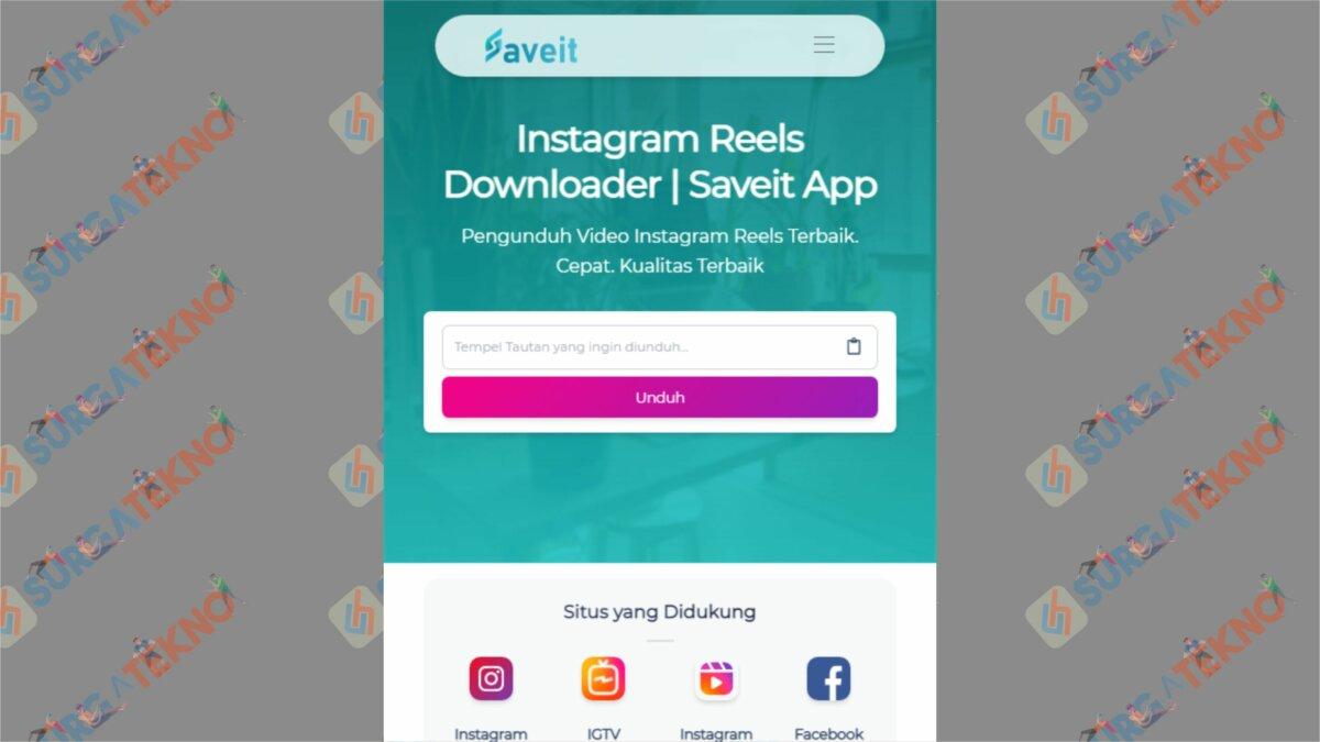 Instagram Reels Download by Saveit App - Cara Download Video dari Instagram Reels