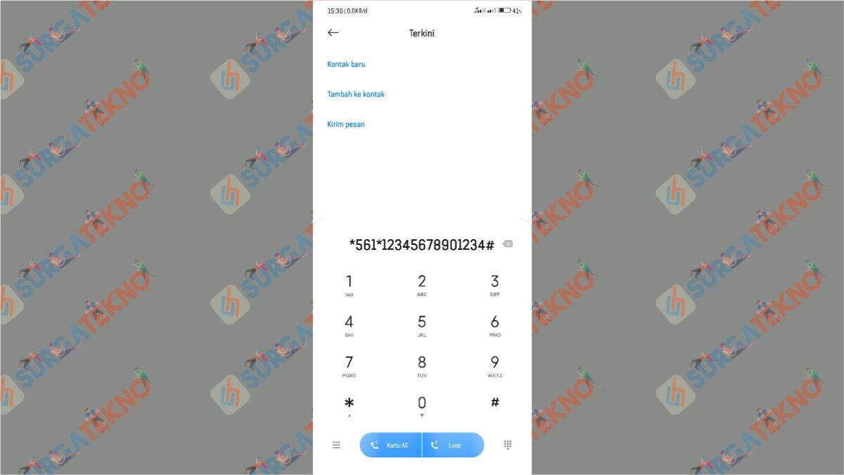 cara memasukan kode voucher m3 lewat dial USSD