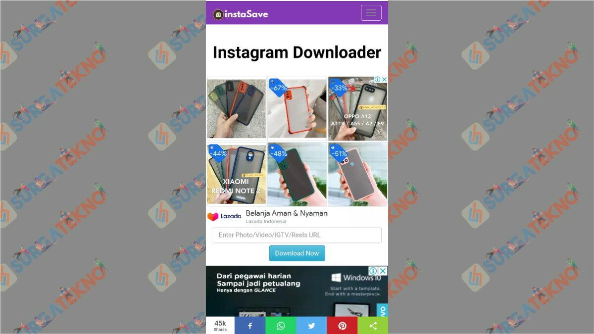 instasave.website - aplikasi pengunduh video Instagram