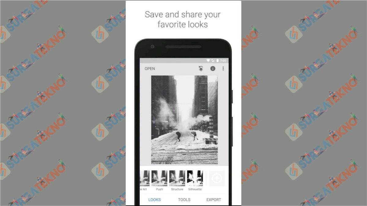 Snapseed - Aplikasi Edit Foto yg Lagi Hits di Instagram