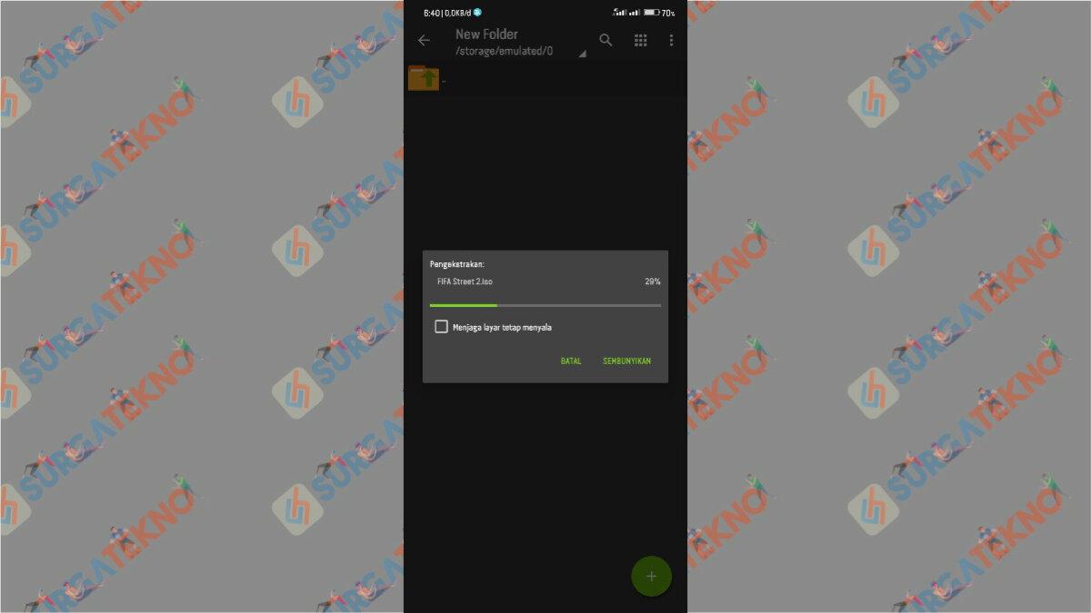 Langkah Ketiga - Cara Ekstrak File 7z di Android