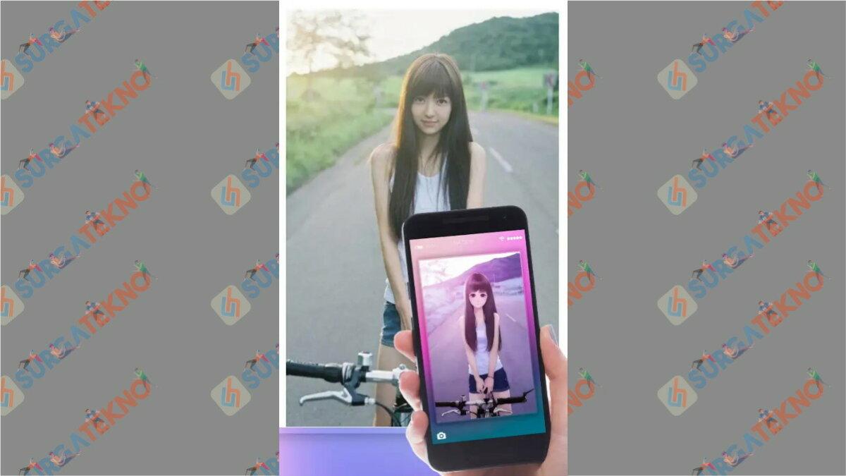 Anime Face Changer - aplikasi pengubah foto menjadi anime