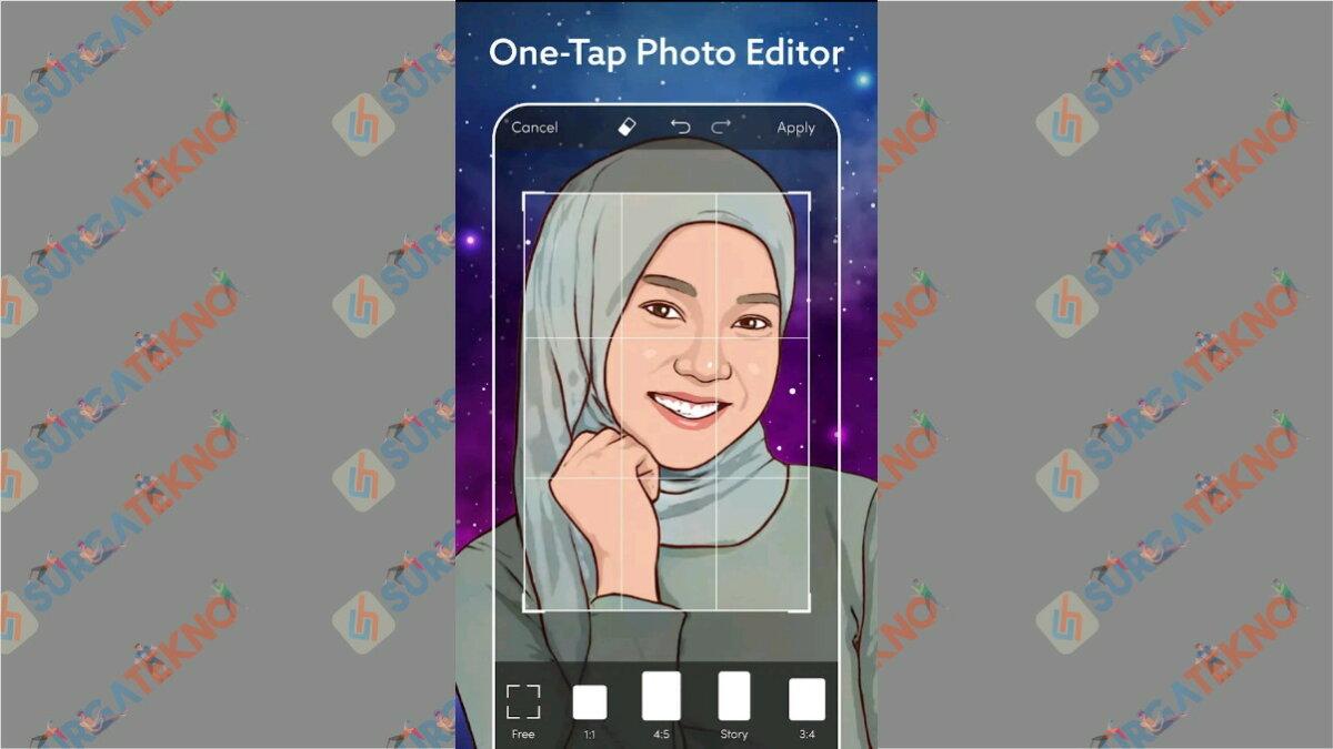 ToonArt - aplikasi pengubah foto menjadi anime
