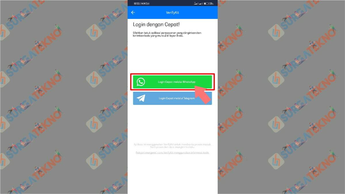 Langkah keenam - cara penggunaan aplikasi get contact