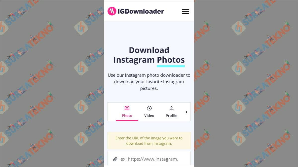 igdownloader.com - aplikasi pengunduh video Instagram
