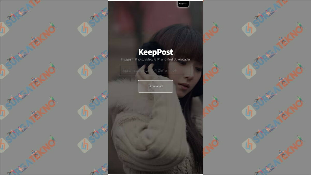 keeppost.com - aplikasi pengunduh video Instagram