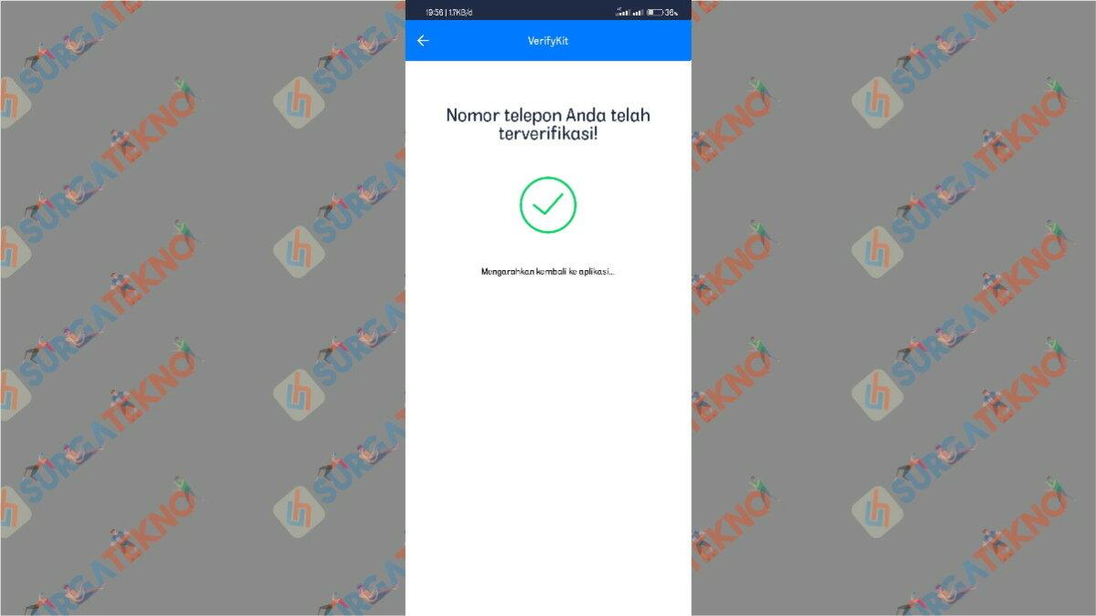 Langkah kesembilan - cara penggunaan aplikasi get contact