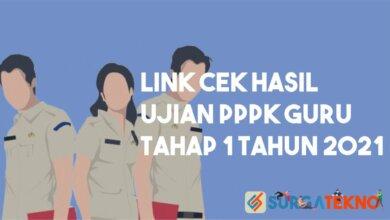 Link Hasil Cek Ujian PPPK Guru Tahap 1